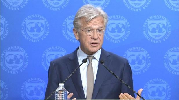 El vocero del FMI, Gerry Rice, le respondió a Cristina Kirchner y señaló que el Fondo no incumplió ninguna regla con el desembolso a Macri