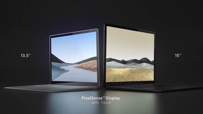 Las Surface laptop 3 tendrán un costo a partir de los USD 999 (Foto: Captura de Pantalla)