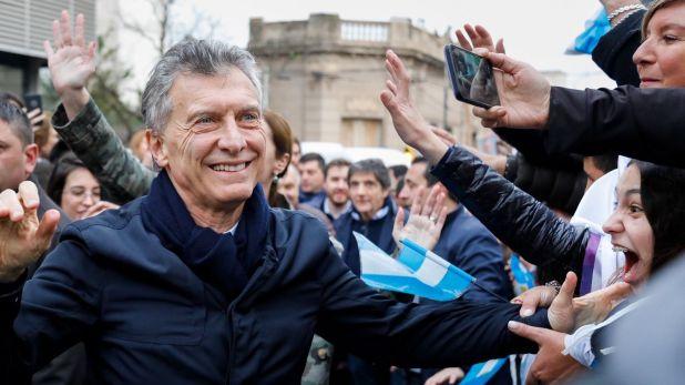 """Mauricio Macri llevó la marcha del """"Sí, se puede"""" a la ciudad de Reconquista (foto: Estudio Sisso Chouela)"""