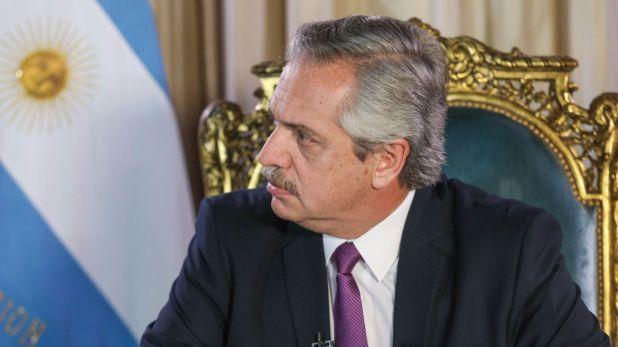 Alberto Fernández se refirió a la situación de River (Foto: Presidencia)
