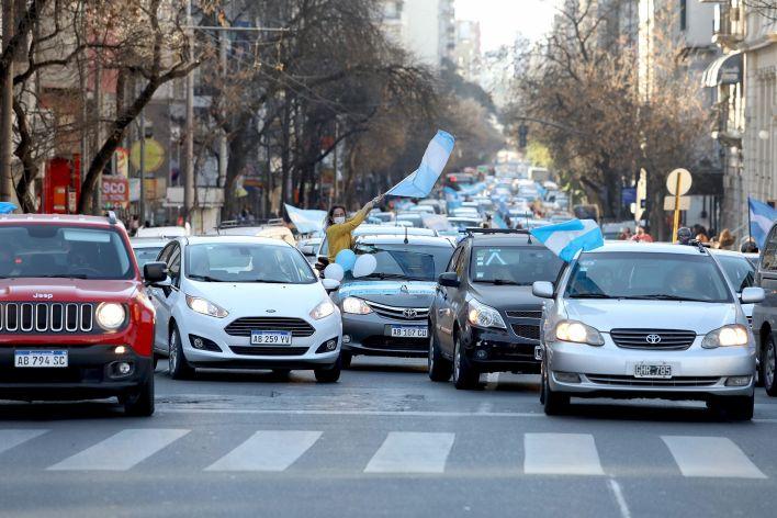 Marcha Anticuarentena / Vicentin - Córdoba - 20J - Banderazo - Buenos Aires, Argentina