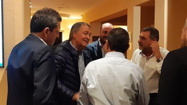 Sergio Massa acompañó a Alberto Fernández a Córdoba