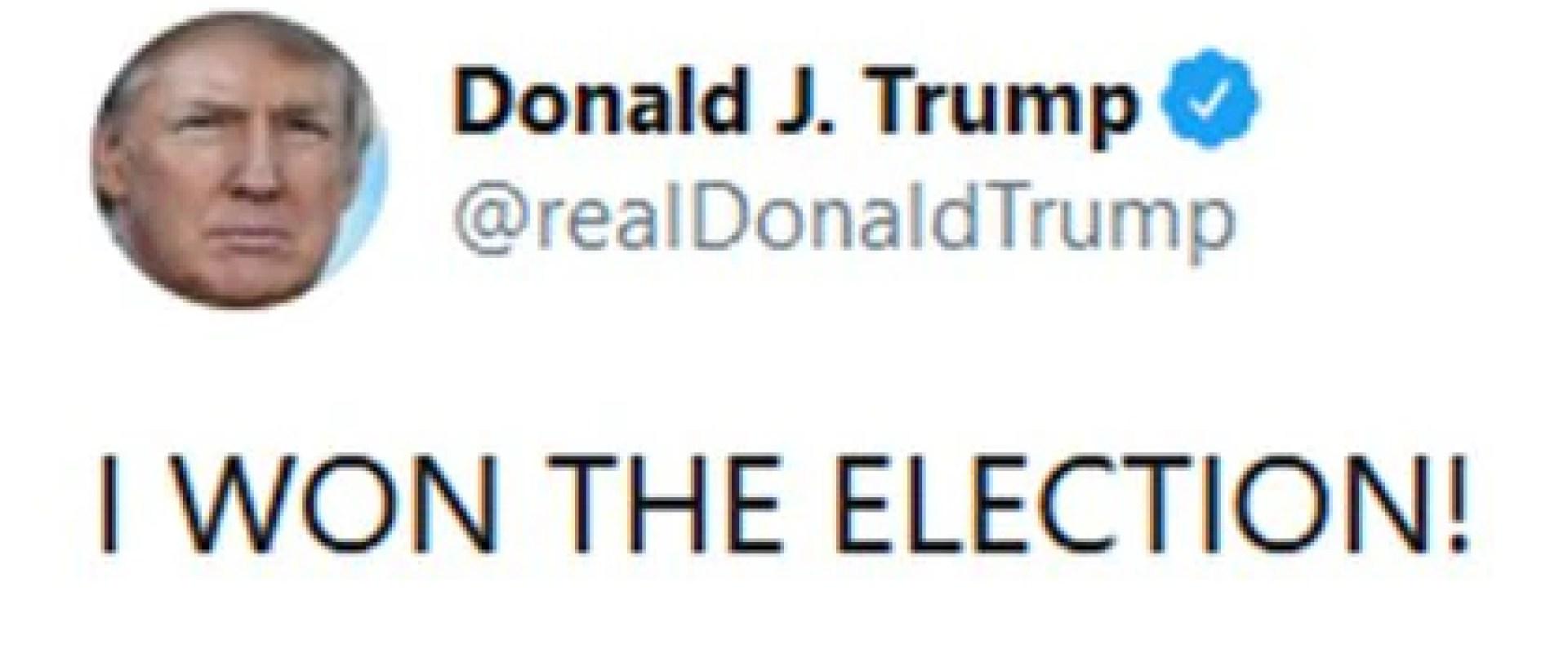 tuit de Trump