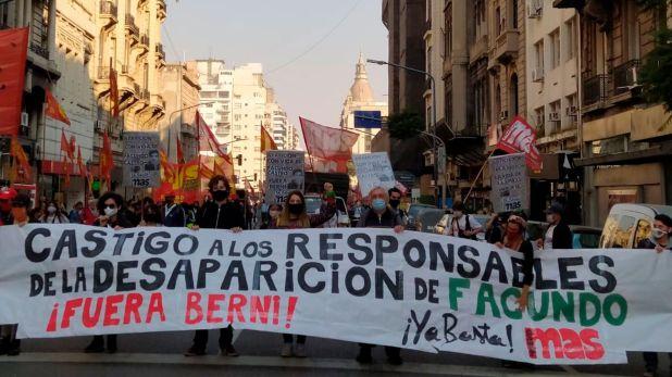Marcha Facundo Castro