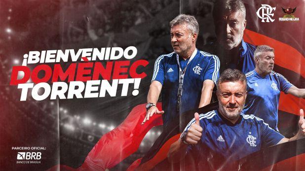 Domenec Torrent Flamengo
