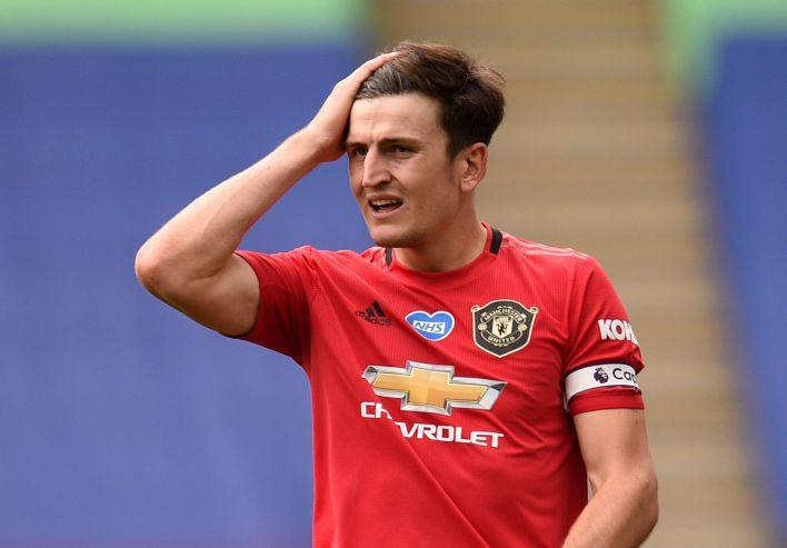 Harry Maguire fue desafectado de la próxima convocatoria de la selección inglesa (Reuters)