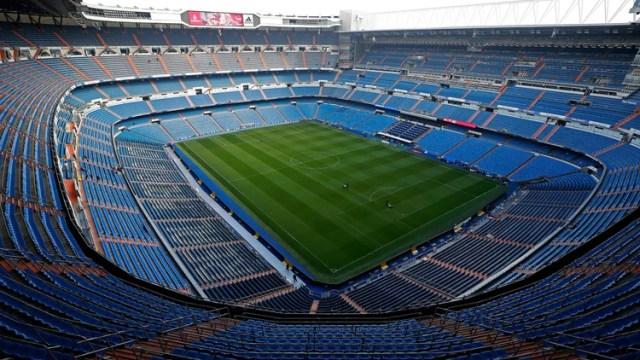 El estadio Santiago Bernabéu albergará la final entre River y Boca (AP)