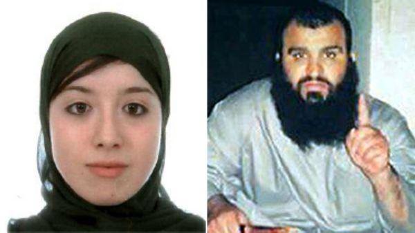 Asia Ahmed Mohamed y su marido, Mohamed Handuch.
