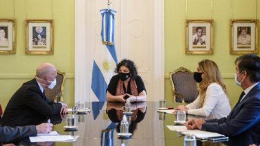 El encuentro se realizó en Casa Rosada durante la tarde del lunes
