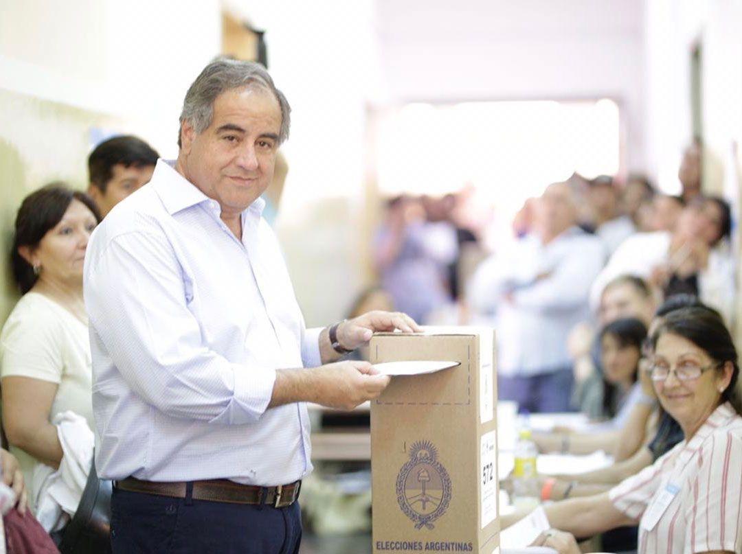 Julio Martínez, el candidato por Juntos por el Cambio (Foto: Twitter @JulioMartinezLR)