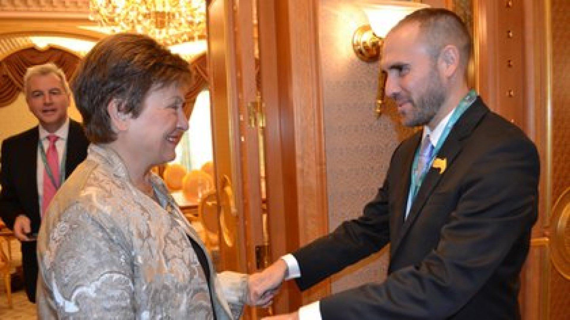 Martín Guzmán podría viajar a fin de febrero a Washington para entrevistarse con Kristalina Georgieva y con Yanet Yellen.