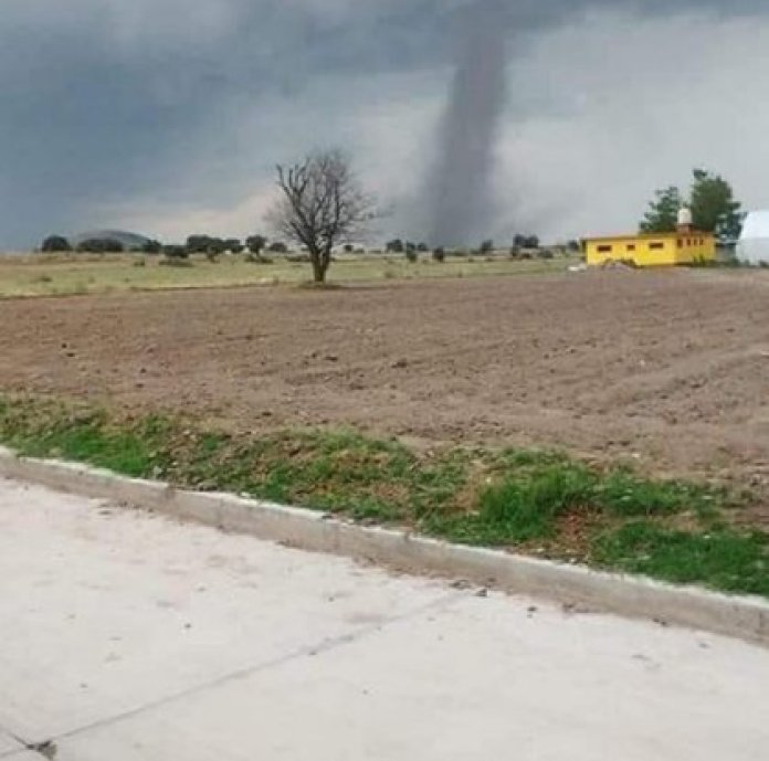 """It was a """"non-supercell"""" vortex, that is, a less intense category on the Enhanced Fujita scale (Photo: Twitter)"""