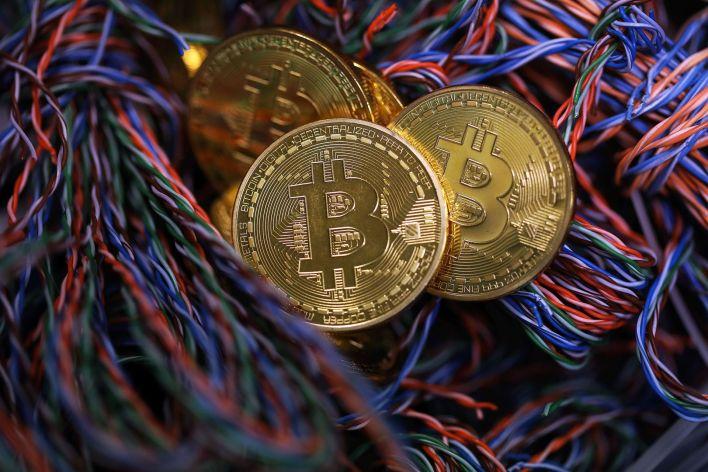 La tecnología detrás de los bitcoins y otras criptomonedas es el eje de este curso (Chris Ratcliffe/Bloomberg)