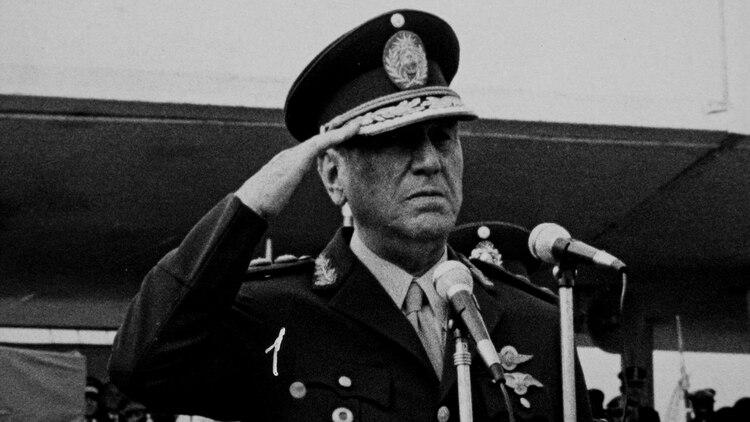 Juan Domingo Perón en 1974