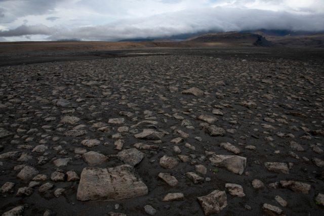 El terreno islandés, cerca al polo norte, fue elegido por su similitud al marciano (AFP)