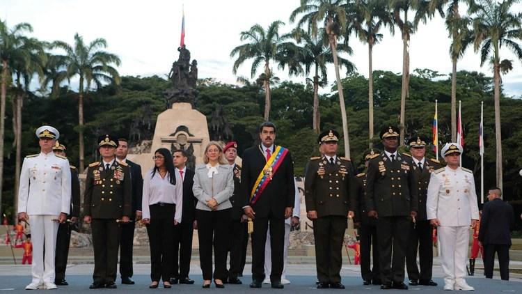 El Día del Ejército en Venezuela, con la notoria ausencia de Cabello y sin la realización del tradicional desfile (Reuters)