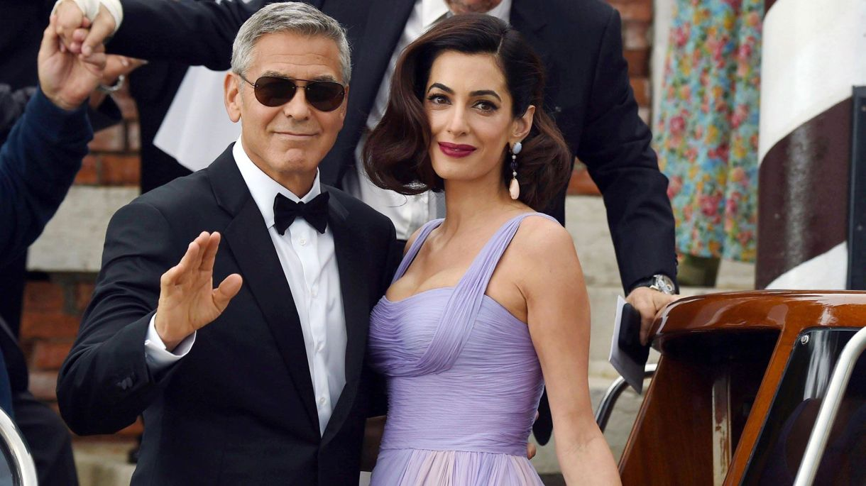 George y Amal Clooney (The Grosby Group)