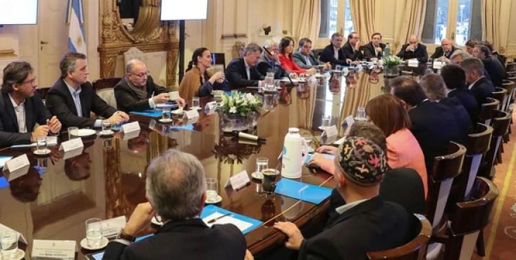 Reunión de Gabinete en Casa Rosada