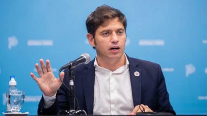 El gobernador bonaerense, Axel Kicillof (Gobierno PBA)