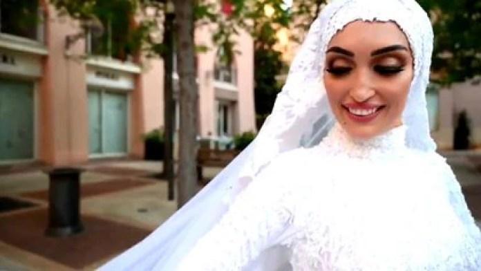 Israa Seblani, la novia