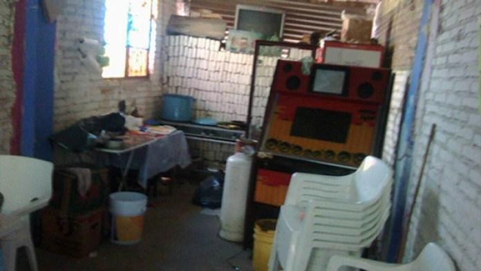 El local en el centro de Taxco donde se encontraron los restos de Magdalena