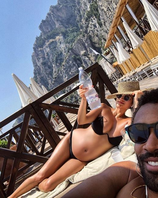Shay Mitchel en Italia. Foto: Instagram)