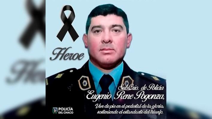 Subcomisario Rene Pogonza murio en Chaco por coronavirus