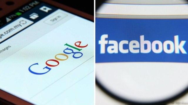 Google y Facebook, dos de los grandes gigantes afectados