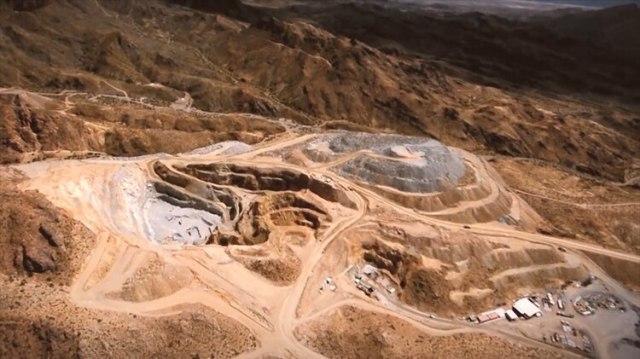 Así queda la superficie de la tierra por la actividad minera