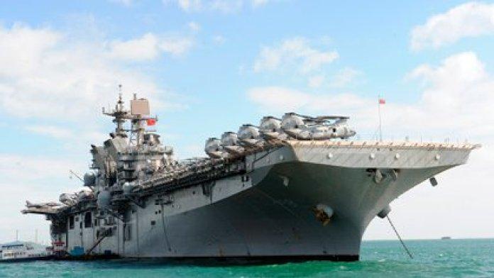 The USS Makin Island showing part of its air component (Keystone / Zuma / Shutterstock)