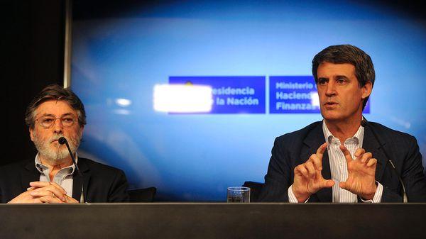Alberto Abad y Alfonso Prat-Gay comunicaron el primer corte al 31 de diciembre 2016: USD 97.842 millones