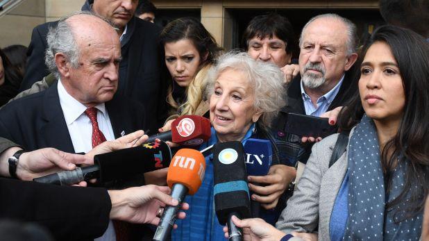 Carlotto pidió que los funcionarios macristas que tienen causas judiciales brinden explicaciones, como lo hizo la expresidenta Cristina Fernández (Maximiliano Luna)
