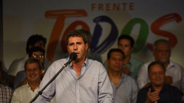 El gobernador de San Juan Sergio Uñac