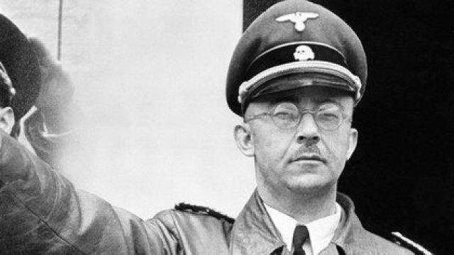 Heinrich Himmler, uno de los jerarcas nazis más temibles