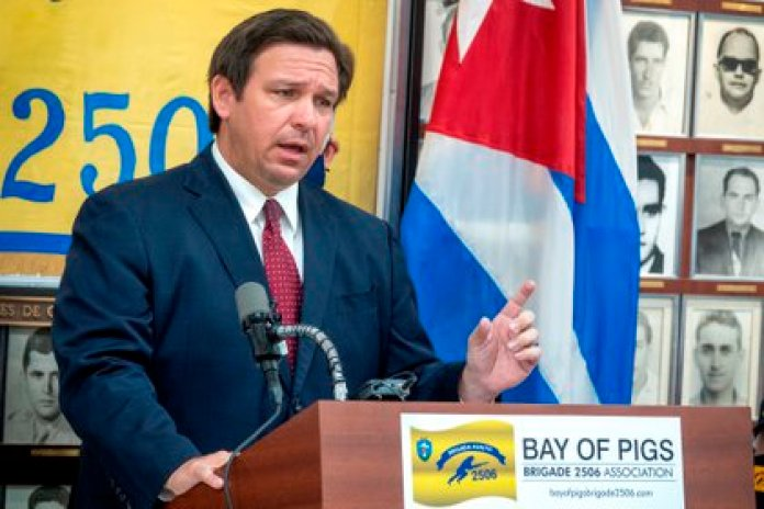 Ron DeSantis, gobernador del estado de Florida (EFE)