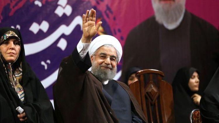 El presidente iraní Hassan Rouhani (AP)