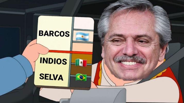 Alberto Fernández - Memes