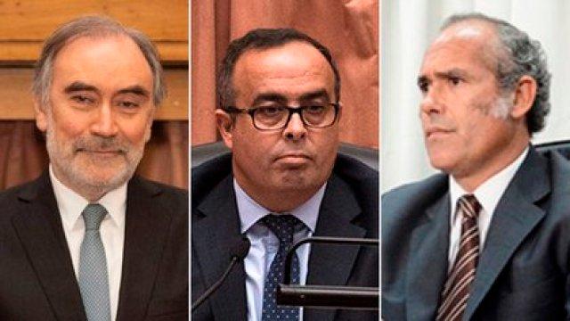 Leopoldo Bruglia, Pablo Bertuzzi y Germán Castelli
