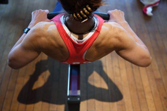 El remo utiliza todos los músculos principales hambrientos de oxígeno, como las piernas, el torso y los brazos (The Washington Post photo / Matt McClain)
