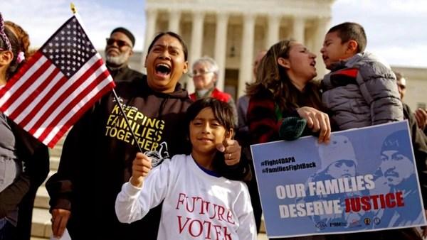 Resultado de imagen para familias inmigrantes en eeuu