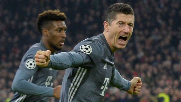 Robert Lewandowski aspira esta temporada a ganar la Bota de Oro, el premio al máximo goleador del fútbol europeo (Reuters)