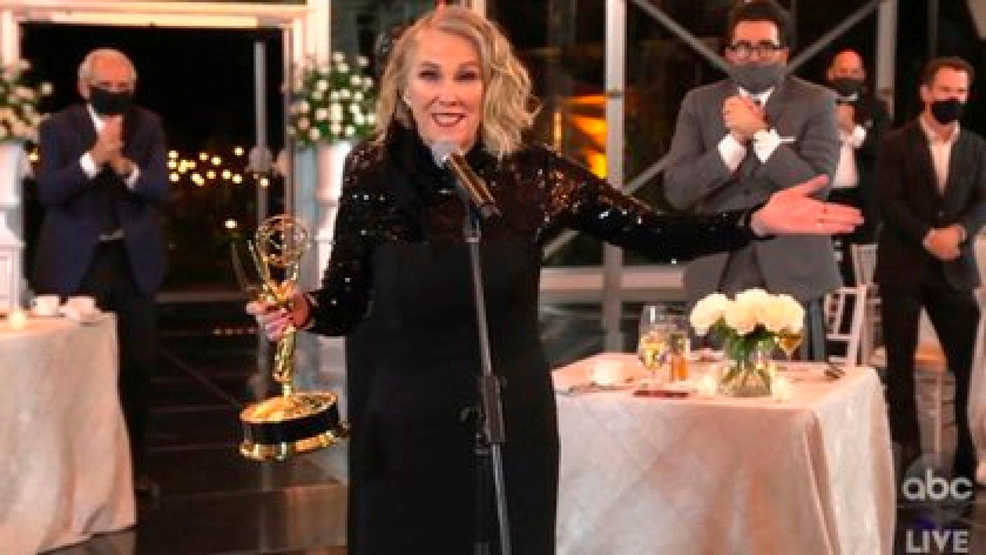 Catherine O'Hara (Foto: The Television Academy y ABC Entertainment vía AP)