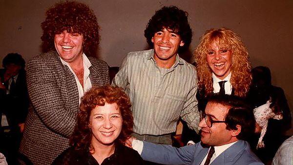 Jorge Cyterszpiler, Diego Maradona y Claudia Maradona