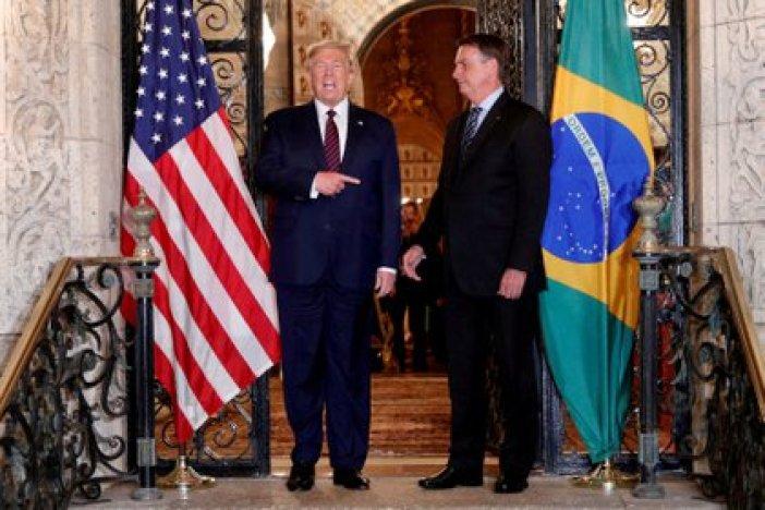 Bolsonaro visitó a Trump a principios de marzo de 2020 (REUTERS)