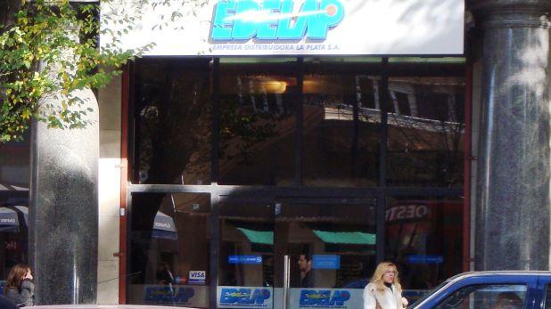 Oficina de Edelap en La Plata, controlada por el Grupo DESA, de Rogelio Pagano