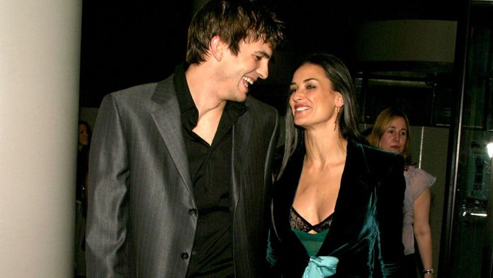 Ashton Kutcher y Demi Moore (Grosby Group)