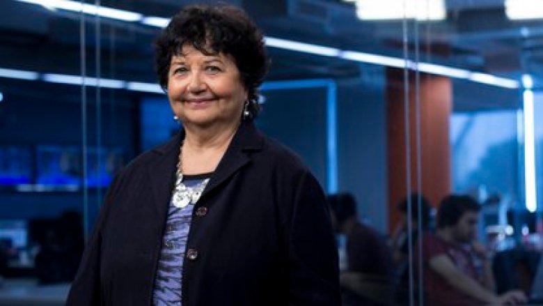 Dora Barrancos, una de las cuatro mujeres entrevistadas en el libro (Crédito: Santiago Saferstein)