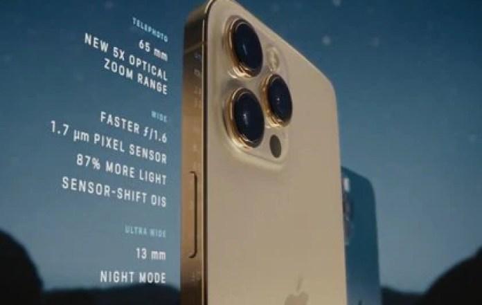 Las cámaras del iPhone 12 Pro