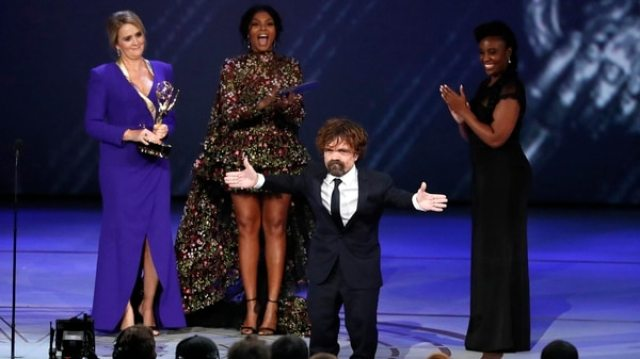 "Peter Dinklage recibió por tercera vez un Emmy por ""Game of Thrones"""