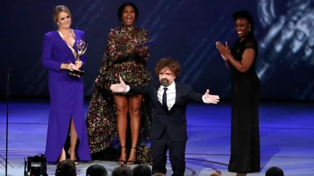 """Peter Dinklage recibió por tercera vez un Emmy por """"Game of Thrones"""""""